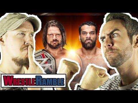 WWE Clash Of Champions Predictions! AJ Styles vs. Jinder Mahal! | WrestleRamble