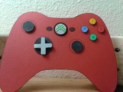 Xbox 360 Game Controller Birthday Card