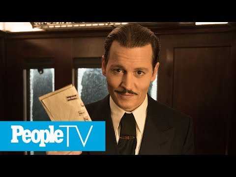 'Murder On The Orient Express' Cast Gushes About Johnny Depp | PeopleTV | Entertainment Weekly