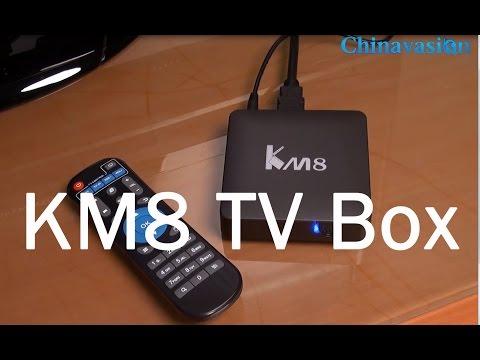 KM8 First Android 6.0 Wifi TV Box Review, Amlogic S905X CPU, Mali GPU, 2GB RAM