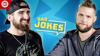Dude Perfect Bad Joke Telling CHALLENGE