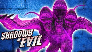Black Ops 3 Zombies SHADOWS OF EVIL EASTER EGG - MEGA GATEWORM! (Call of Duty: Black Ops 3 Zombies)