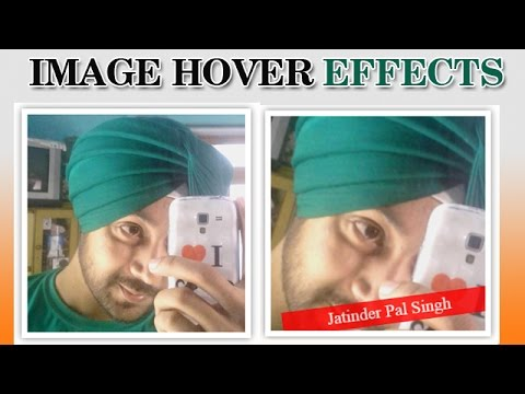 Amazing Image hover effects with HTML and CSS only (Hindi/Urdu)