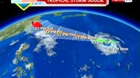 QRT: GMA weather update as of 6:00 p.m. (July 8, 2013)