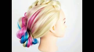 How to Video. Dutch Braid Twist Updo Hairstyle Song(Burgess-Wander ft Sarah Anderson