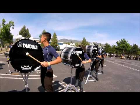 WGI Western Percussion Finals *Clovis East High School IN THE LOT