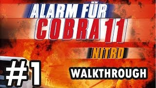 Alarm Für Cobra 11: Nitro - Mission 1 - Detective Sergeant - New Staff Car (Walkthrough)