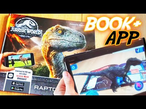 JURASSIC WORLD Fallen Kingdom | Book & App | RAPTOR RESCUE | Augmented Reality | Android iOS