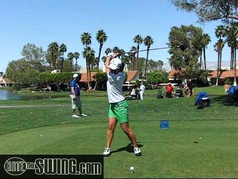 Ai Miyazato Driver Golf Swing Slow Motion