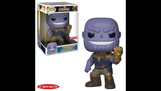 FUNKO Avengers: Infinity War Target exclusive 10-inch Thanos pop review