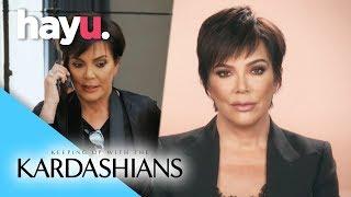 Kris Rushes To Reach Khloé! | Season 15 | Keeping Up With The Kardashians