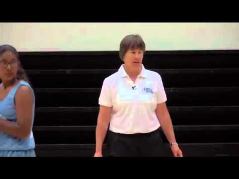 Offensive Drills for Youth Basketball   Square Up Practice by Tara VanDerveer