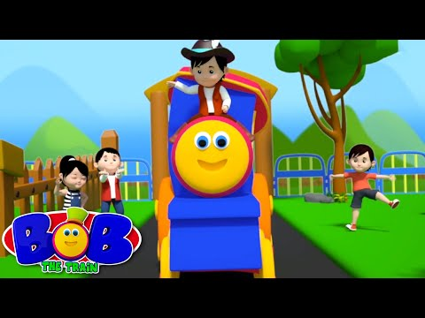 Bob The Train | Yankee Doodle Went To Town | Nursery Rhymes | Baby Rhymes | Kids Song | 3D Rhymes