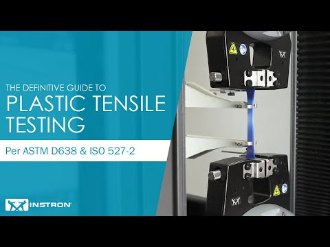 The Definitive Guide To Tensile Testing Of Plastic To ASTM D638 & ISO 527-2