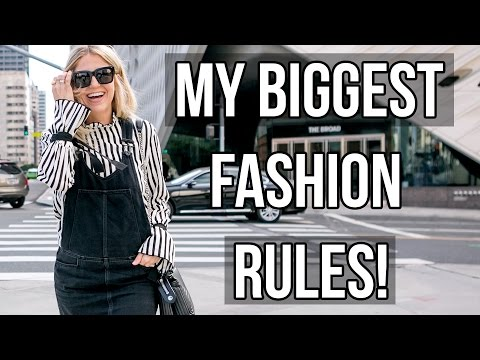 Style Tips + Fashion Rules You Should Live By!!