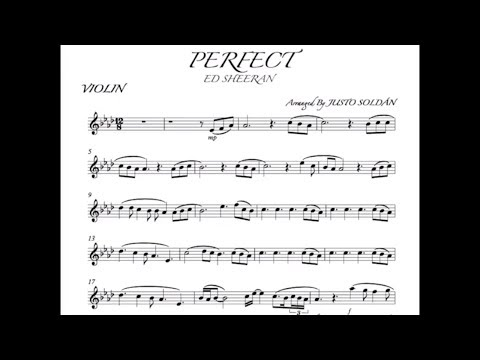 "perfect-ed-sheeran-""violin""-sheet-music-and-play-along-by-justo-soldÁn,-partitura-para-violÍn"