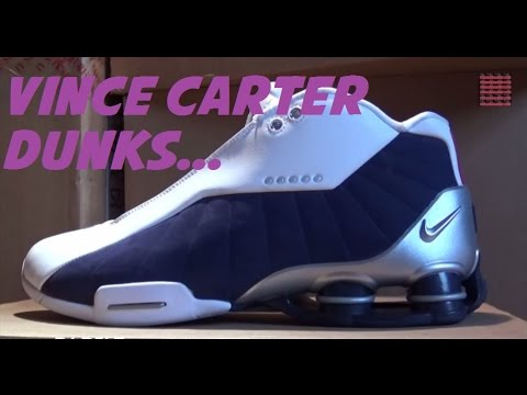 10447cd15a1857 Nike Shox BB4 Vince Carter Olympic Team USA Sneaker Review W   DjDelz -  Happy Birthday Vince Carter