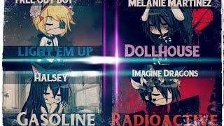 Mini mix//Nightcore\Gacha Studio [Dollhouse, Gasoline, Light e…