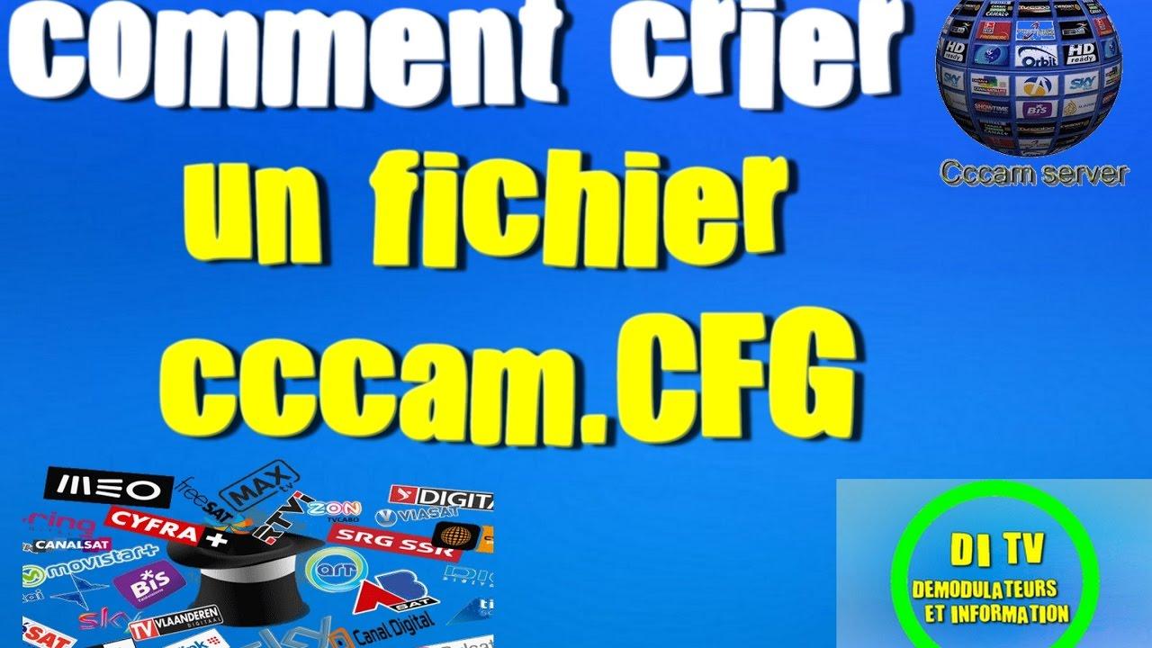 CCCAM.CFG GRATUIT TÉLÉCHARGER