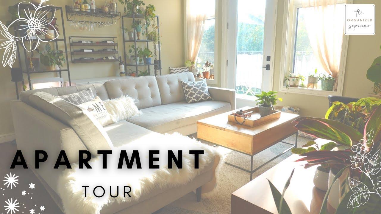 A Pro Organizer's Modern & Cozy Apartment Tour - YouTube