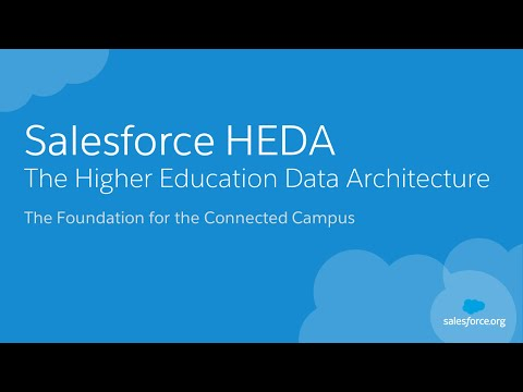 Salesforce HEDA: Higher Education Data Architecture