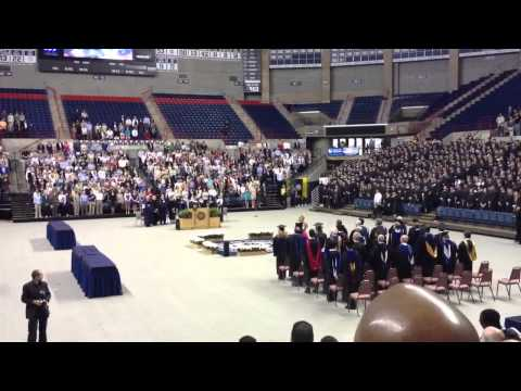 UConn School of Business Commencement National Anthem