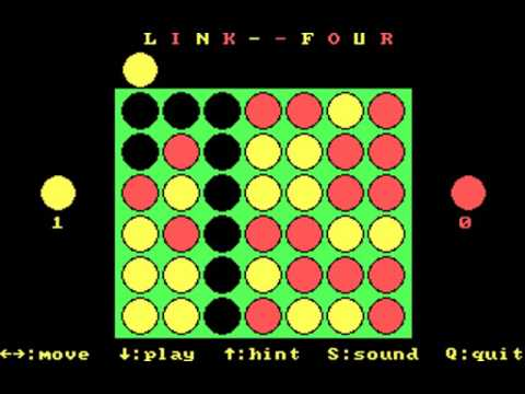 Link Four (The Great Canadian Computer Company) (MS-DOS) [1986]