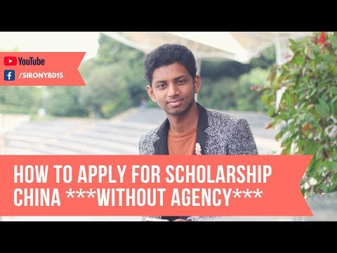 How to apply for chinese / china scholarship without agency | by siRONYbd
