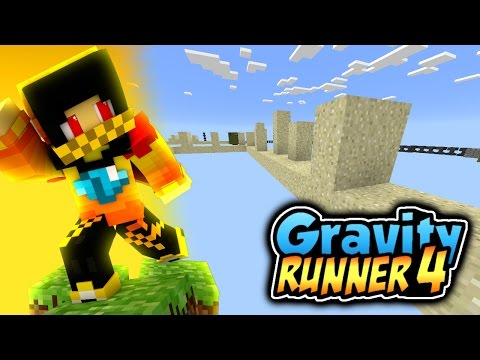 Gravity Runner 4 parkour - Minecraft Pocket Edition 0.14.3   [MCPE]