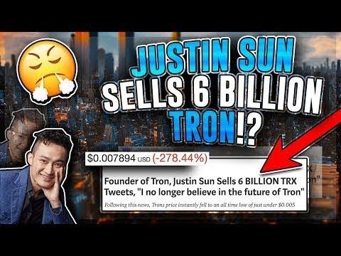 Justin Sun Sold 6 Billion Trx Tron Crypto Review Is Tron Trx A Scam The Real Truth About Tron