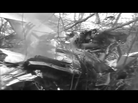 Flaming US Flying Fortress, Berismenil, Belgium ; P-47 Crash, Bissen, Luxembourg, 01/14/1945 c7