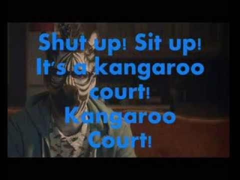 Capital Cities – Kangaroo Court Lyrics (On Screen)