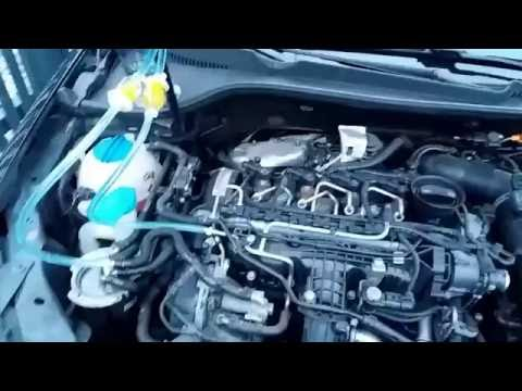 VW GOLF 6 CAYC 1.6 TDI injectors CR system cleaning