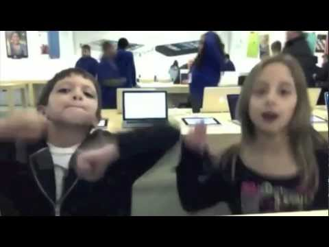 Apple store dance to sexy and i know it
