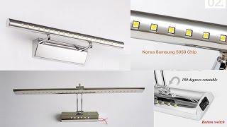 видео Влагозащищенные светильники для ванной комнаты