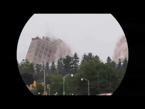Siren / Deprem / Yıkım / Patlama / Tehlike / Dinamit / Bina yıkımı
