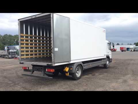 Промтоварный фургон на шасси Mercedes Benz Atego 1523L