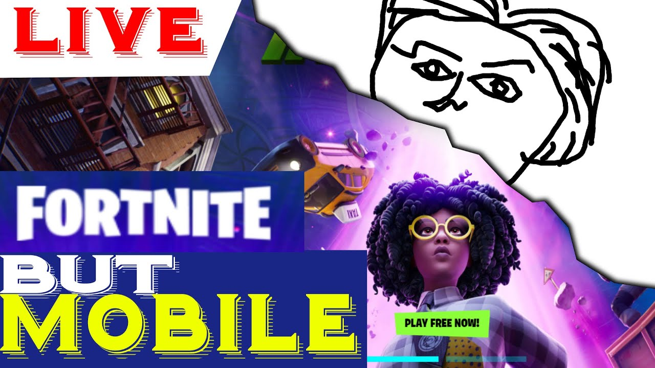 Fortnite MOBILE Live 🔴Playing with viewers [Mobile only]