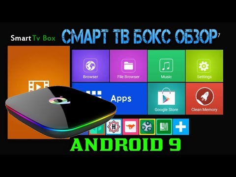 ОБЗОР СМАРТ ТВ ПРИСТАВКИ SUNVELL Q Plus Android TV Box Android 9.0 Allwinner H6 4GB + 32GB 4K H.265