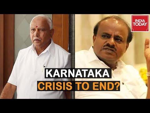 Karnataka Govt To Face Floor Test: Endgame Near For Political Drama?   5ive Live
