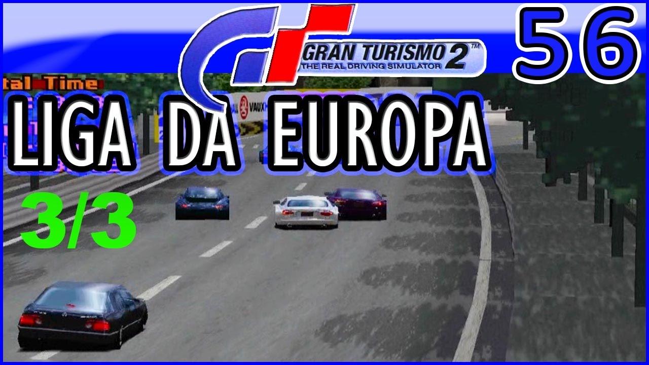 Gran Turismo 2 - #56 - LIGA DA EUROPA com JAGUAR XKR V8 - YouTube
