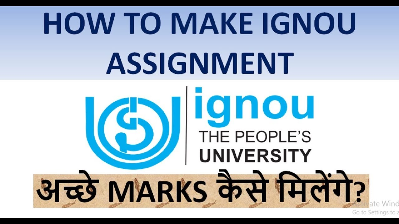 ignou assignment Assignment/project/practical submission status/checking enter enrollment no(9 digit) enter programme code.