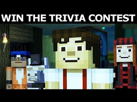 Jesse Wins The Trivia Contest In Fred's Keep - Minecraft: Story Mode Season 2 Episode 4