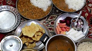 INDIAN LUNCH ROUTINE    SUNDAY Special  LUNCH ROUTINE    Rajma Chawal    Easy Lunch Recipes 2019.