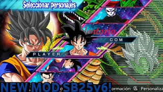 Dragon Ball Z Shin Budokai 5 V6 SUPER MEGA MODS
