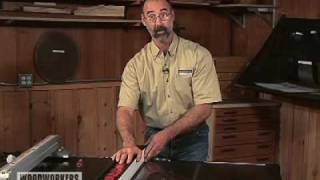 Paralleling A Table Saw Fence