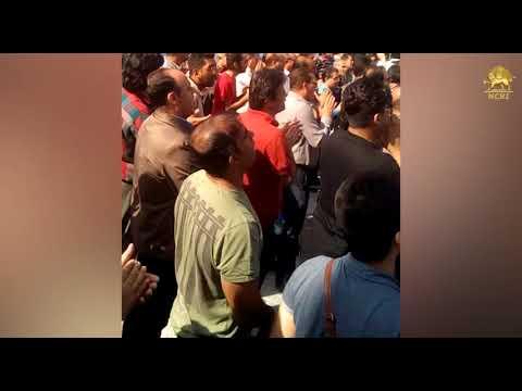 Twelfth Day Of Strike By Workers Of Iran National Steel Industrial Group In Ahvaz