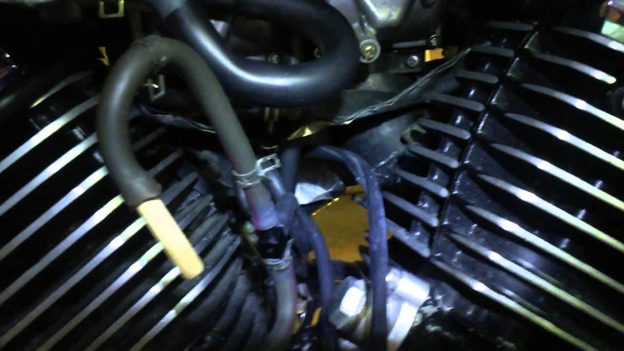 adjust your rear shock on a v star youtube totw jet kit