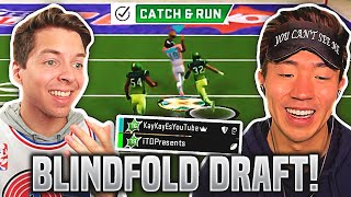 BLINDFOLD DRAFT! INSANE SUPERSTAR KO GAMES W/ TD! Madden 20