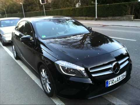the new mercedes a class 2012 youtube. Black Bedroom Furniture Sets. Home Design Ideas
